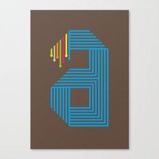 A like A Canvas Print