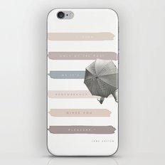 Feminine Fiction v 2 iPhone & iPod Skin