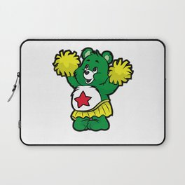 CHEERLEADER TEDDY Pom Pom Cheerleading Dancing Laptop Sleeve