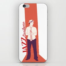 caribbean jazz iPhone & iPod Skin