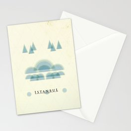 Istanbul Poster Stationery Cards