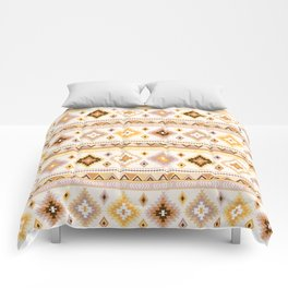 Kilim in mustard and sand Comforters