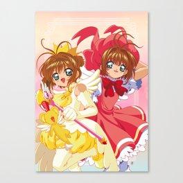 CardCaptor Sakura Canvas Print