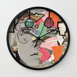 All That Glitters Wall Clock