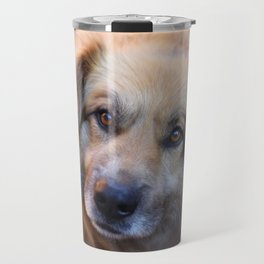 happy dog Travel Mug
