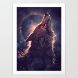 Dust Clears Art Print
