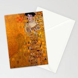 THE LADY IN GOLD BLOCH BAUER - GUSTAV KLIMT Stationery Cards