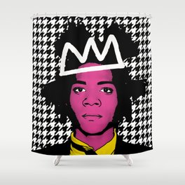 JEAN MICHEL BASQUIAT Shower Curtain