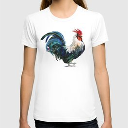 Rooster Decor, Beautiful Rooster French country style design artwork, kitchen T-shirt