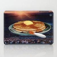 breakfast iPad Cases featuring Breakfast by Lerson