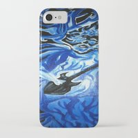 grateful dead iPhone & iPod Cases featuring Jerry Garcia Blues Acrylic Painting Grateful Dead by Acorn