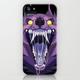 Werewolf Maw iPhone Case