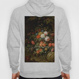 "Abraham Mignon ""Flowers and Fruit"" Hoody"
