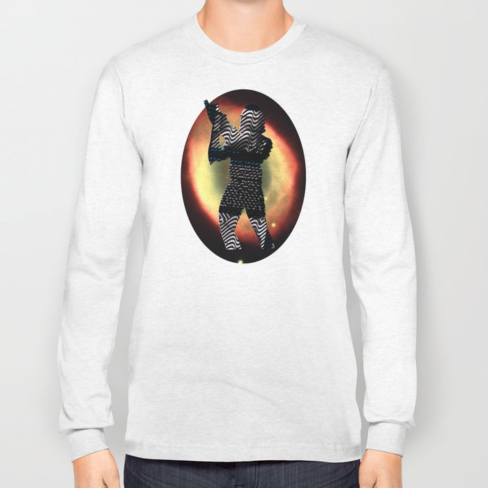 Cut StarWars - Space Streifenhörnchen Supernova Long Sleeve T-shirt
