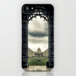 Monumental cemetery of Pisa iPhone Case