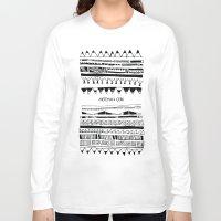 boy Long Sleeve T-shirts featuring BOY by Giulia Aronés
