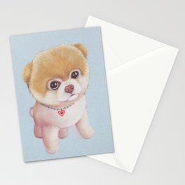 Cute puppy. Stationery Cards