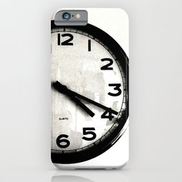 Four Nineteen Clock iPhone Case