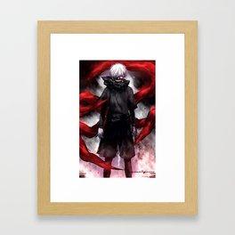 Tokyo Ghouls Anime Cool Cosplay Framed Art Print