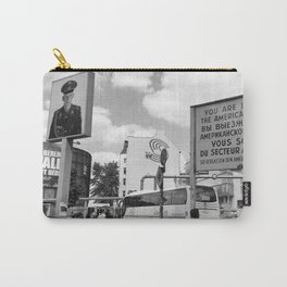 Checkpoint Charlie Berlin Carry-All Pouch