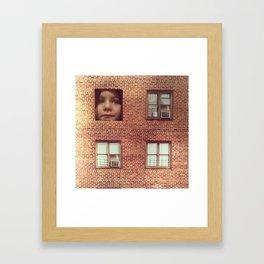 Frannie's House Framed Art Print
