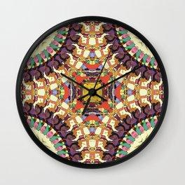 Abstract Colorful Mandala Wall Clock