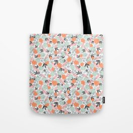 pentagon flower system Tote Bag
