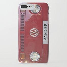 Wander wolkswagen. Summer dreams. Red iPhone Case