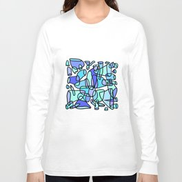 Sloppy Rockets - Stained Glass Long Sleeve T-shirt