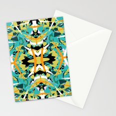 Abstract Symmetry Stationery Cards