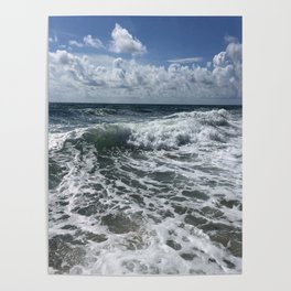 Florida Surf Sanibel Island Poster