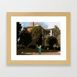 Dreamtouch-Iku Framed Art Print