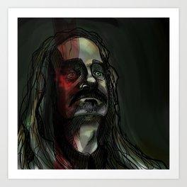 Portrait of a Worm Art Print
