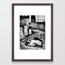 Sweet nothings Framed Art Print