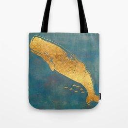 Deep Sea Life Whale Tote Bag