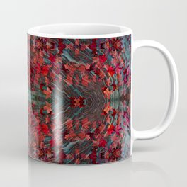 Emerald fall geometry V Coffee Mug