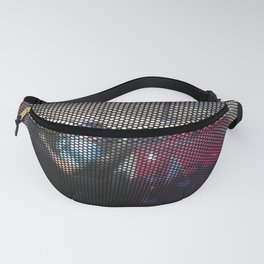 red convertible Fanny Pack
