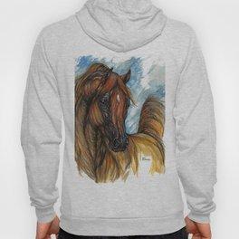 Chestnut arabian horse Hoody