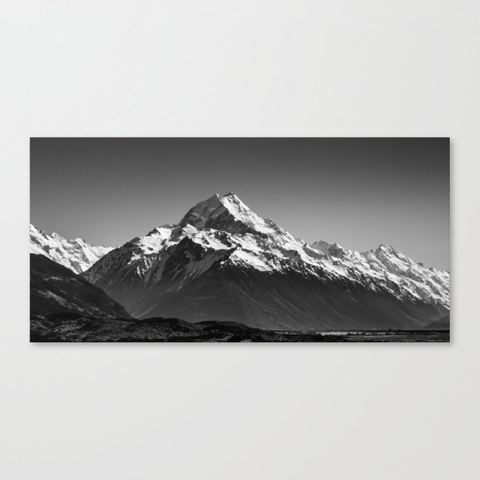 Aoraki Panorama Canvas Print