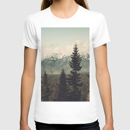 Snow capped Sierras T-shirt