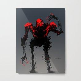 Red Clan Aggressor Metal Print