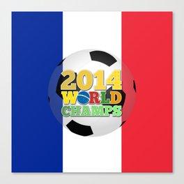 2014 World Champs Ball - France Canvas Print