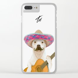 TITO PANCHITO Clear iPhone Case