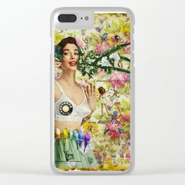 Call Me Clear iPhone Case