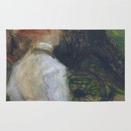 """Henri de Toulouse-Lautrec """"Au Bois de Boulougne"""" Rug"""
