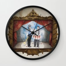 The Panto Horsemen Wall Clock