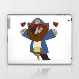 Pirate Love Laptop & iPad Skin