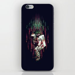 Falling from the Space iPhone Skin