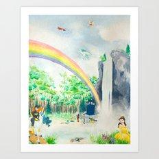 Misadventures in Dreamland Art Print