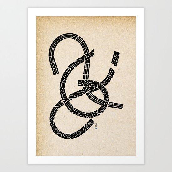 - lovers - Art Print